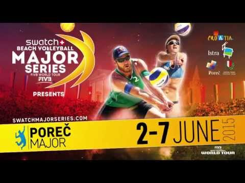 Swatch Beach Volleyball Major Series - Porec