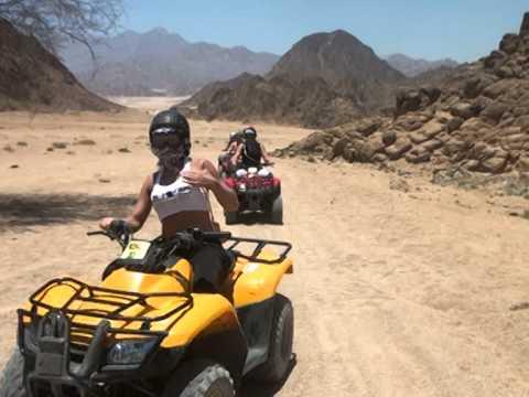 Safari desert quad biking- Sharm El Sheikh 2014