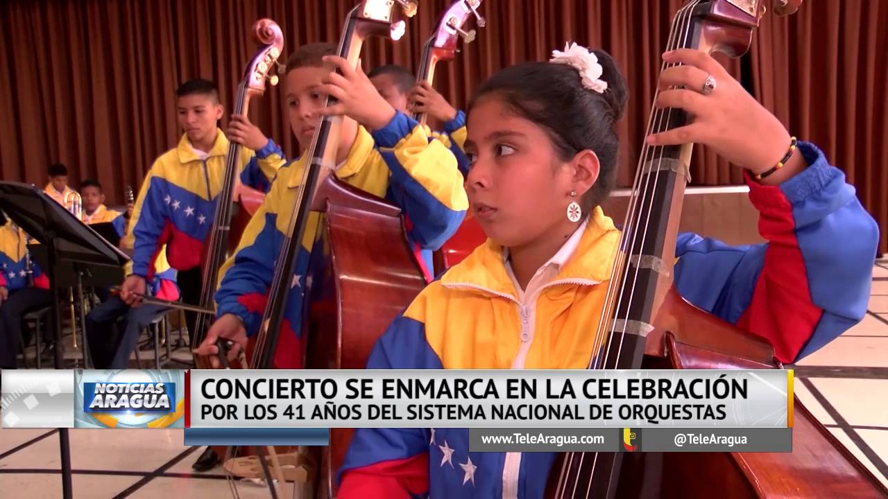 Resultado de imagen para ORQUESTA SINFONICA INFANTIL NUCLEO VILLA DE CURA ARAGUA