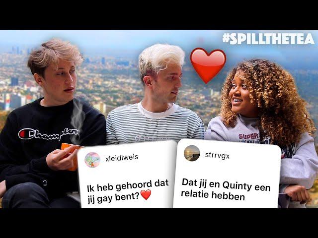 HEB IK MET QUINTY OF BEN IK GAY? 🤫 #SPILLTHETEA 3