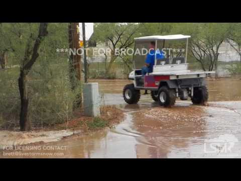 08-02-2017 Marana, AZ - Flash Flood Consumes Arizona Neighborhood