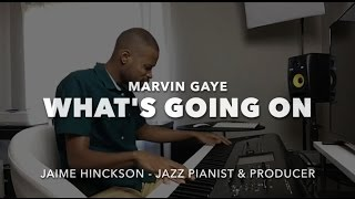 Marvin Gaye - What's Going On (Piano)
