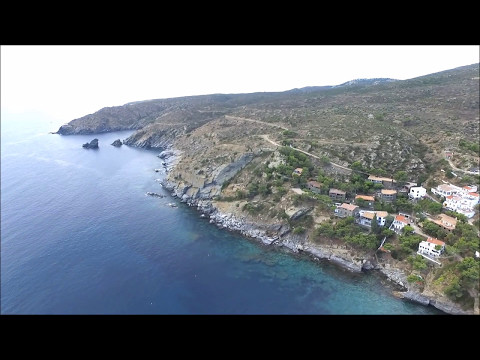 HARBOR OF CADAQUES  and BEACH DRONE dji FLIGHT SPAIN HD by cleanmix
