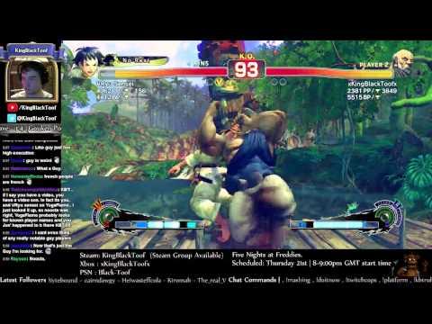 USF4   KingBlackToof vs VRyu Sensei (Makoto) - Multiple Offender.