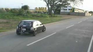 TEST IN THE STREET 1 CORSA 4X4 TURBO GT42R....ANACO.....