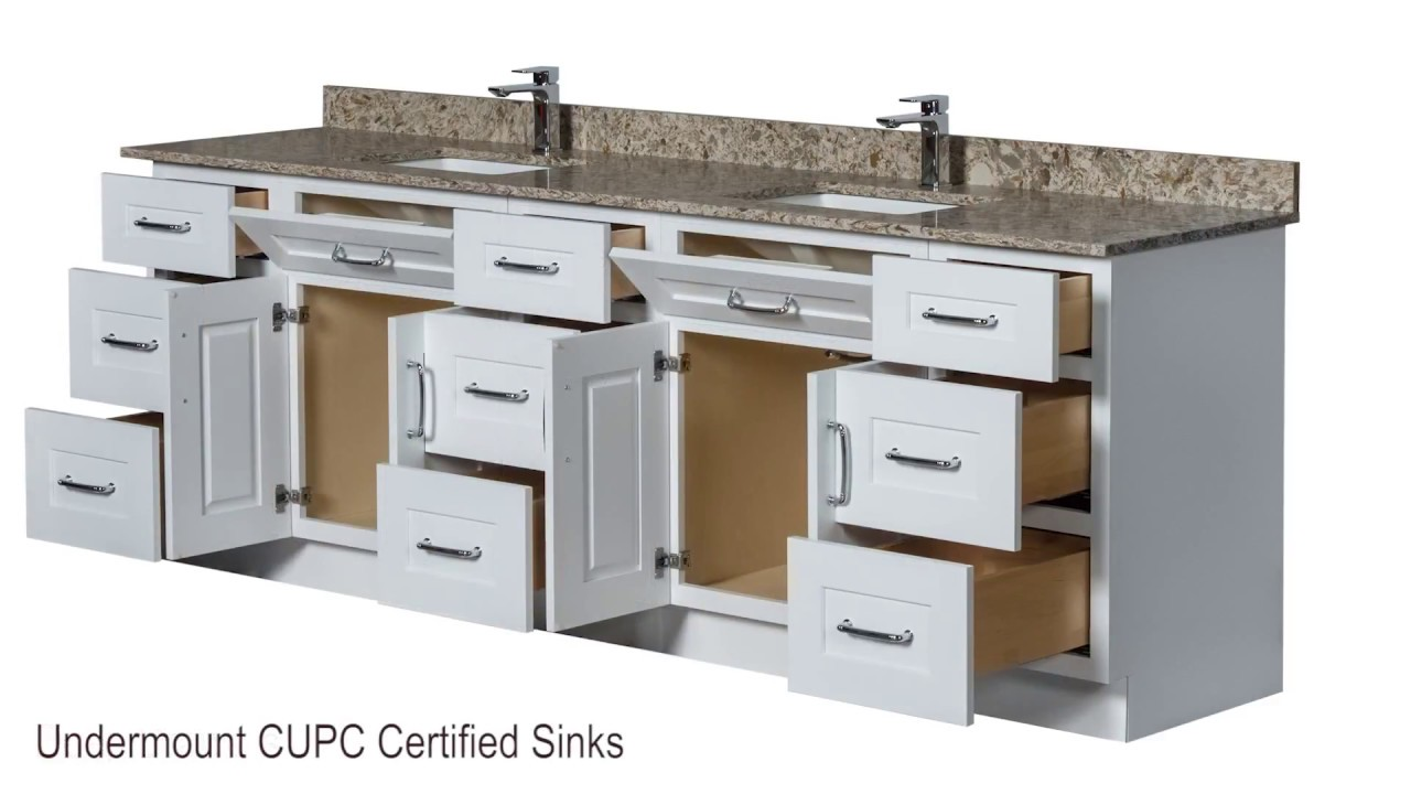 Semi Custom Bathroom Vanities