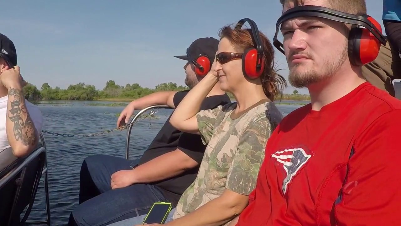 Camp Holly Airboat Rides Melbourne Fl 2018 Youtube