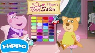 Гиппо 🌼 Маникюрный салон Гиппо 🌼 Игры для девочек 🌼 Мультики Промо-ролики трейлеры с Гиппо