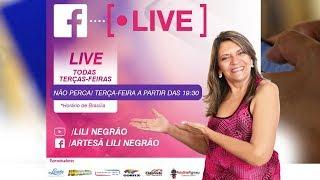LIVE FACEBOOK ◉ Lili Negrão 19/06/2018