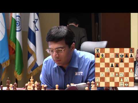 The FIDE World Chess Championship Match. Game 12. V. Anand - B. Gelfand  (pt. 4)