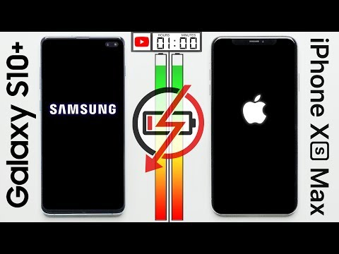 Galaxy S10+ vs. iPhone XS Max Battery Test