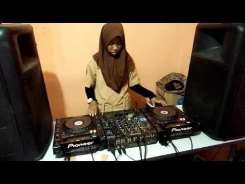 The real Dj cilik Hijab Dj Lala X13