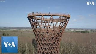 45-Meter-High Forest Tower in Denmark Open to Public