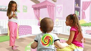 Джони Джони, Да Папа! Песенки для малышей с Элиной, Юлей и Дианой
