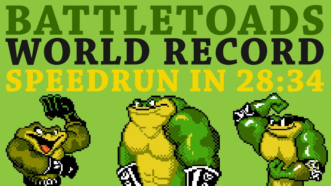[World Record] Battletoads 100% in 28:34