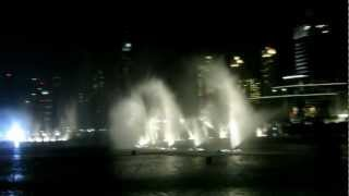 Dubai Mall Musical Fountain.Take Me To Your Heart. by Michael Learns HD @ Burj Khalifa -
