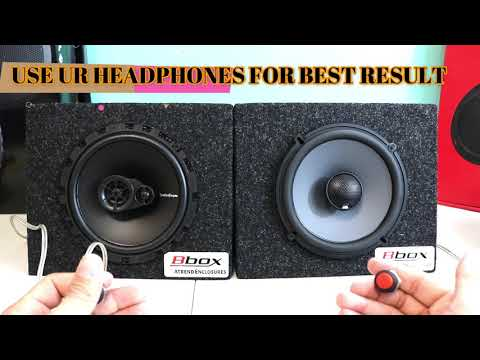 Rockford Fosgate R165X3 Prime 6.5 VS JBL GTO629 Premium 6.5 UNBOXING REVIEW AND SOUND TEST