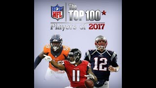 NFL Top 1-10 Players Of 2017 Special #Live Stream