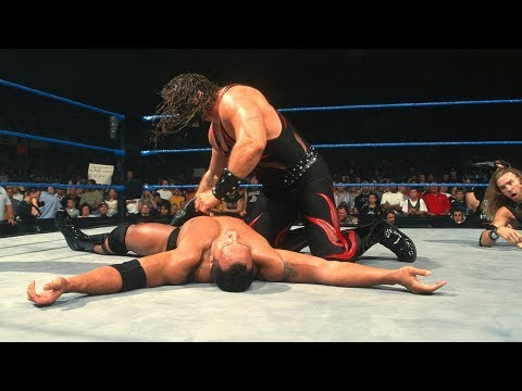 The Rock vs. Kane & Christian - 1-on-2 Handicap WWE Championship Match: SmackDown, Sept. 7, 2000 thumbnail