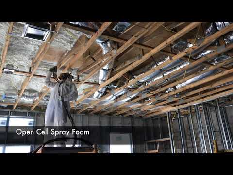 Spray Foam Insulation Big house Florida Construction General contractors