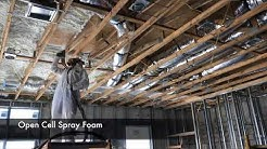 Spray Foam Insulation Big house Florida Construction General contractors