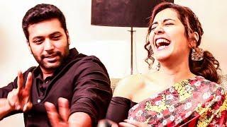 Troll O Troll - Jayam Ravi Imitates Raashi Khanna - Marana fun! | MY 386