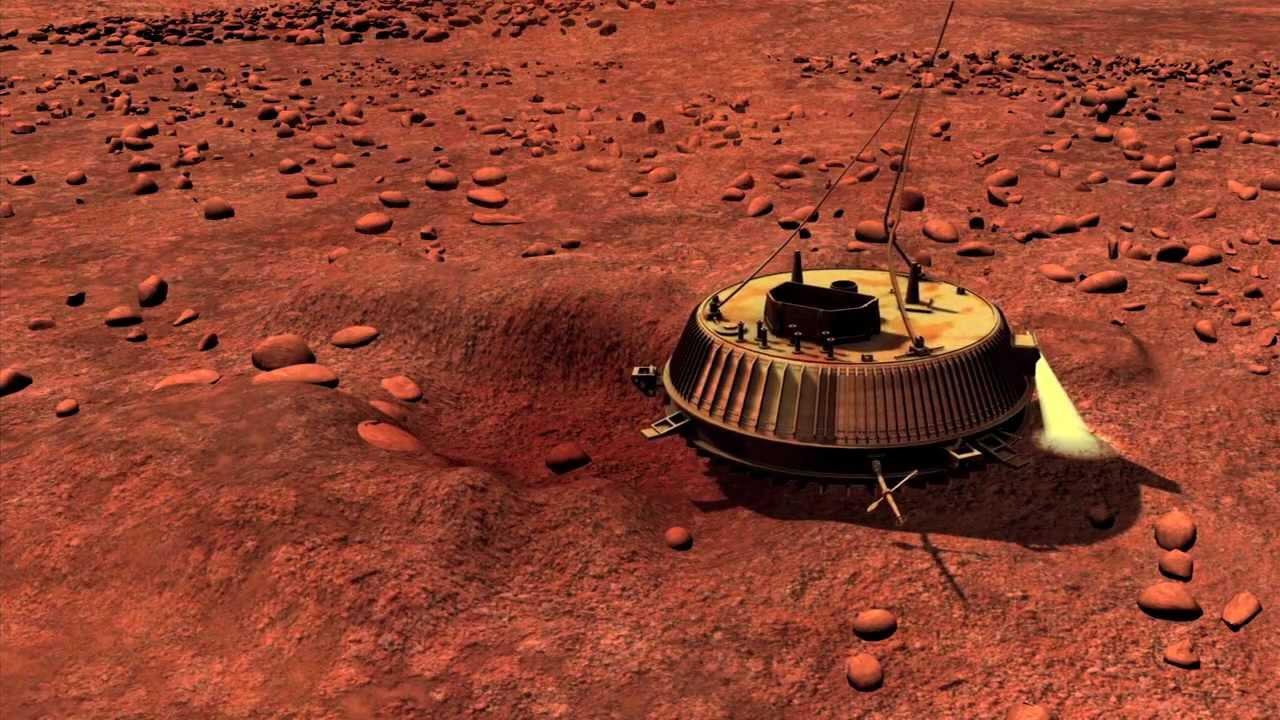 Titan Probe Bounced, Wobbled, and Skid After Landing ...