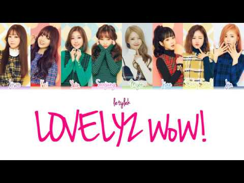 Lovelyz WoW! Lyrics [Colour Coded|HAN/ROM/ENG]