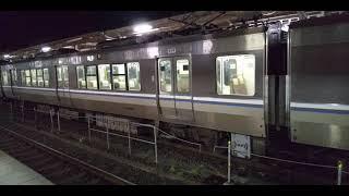 【JR西日本 米原駅】JR東海の新快速 入線