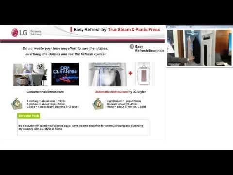 LG Commercial Display Solution Spotlight Webinar: S3RERB Styler & UH5C
