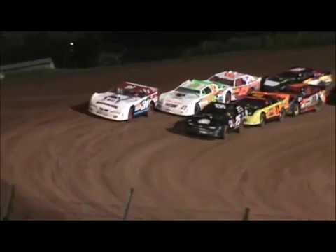 Brett McDonald RUSH Pro Stock Heat Race Lernerville Speedway 9/16/17