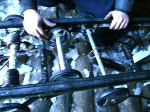 Снегоход Тайга 500 Ремонт подвески