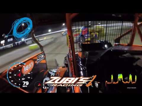 Zubi's Racing - Brian Krummel at Grandview Speedway In-Car - April 2017