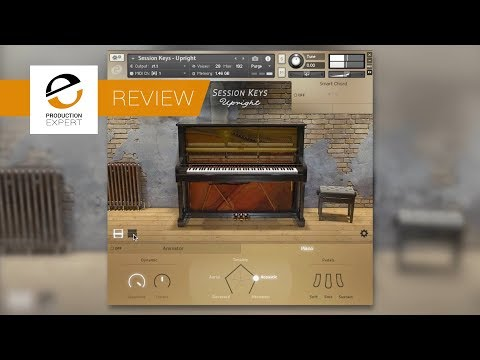 Review - e-instrument Session Keys Upright Piano Instrument