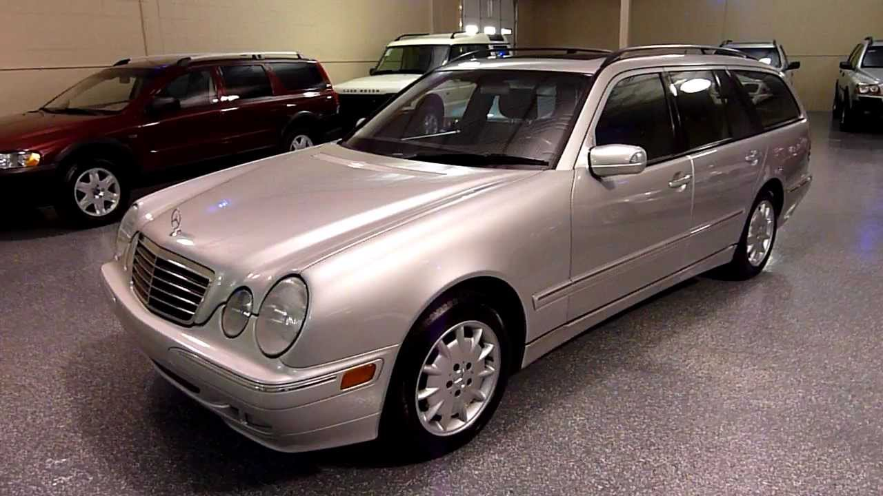 2003 mercedes benz e320 4dr wagon 2106 sold youtube. Black Bedroom Furniture Sets. Home Design Ideas