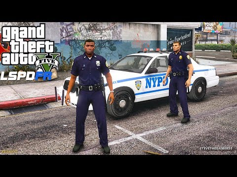 LSPDFR #572 - NYPD CITY PATROL (GTA 5 REAL LIFE POLICE PC MOD)