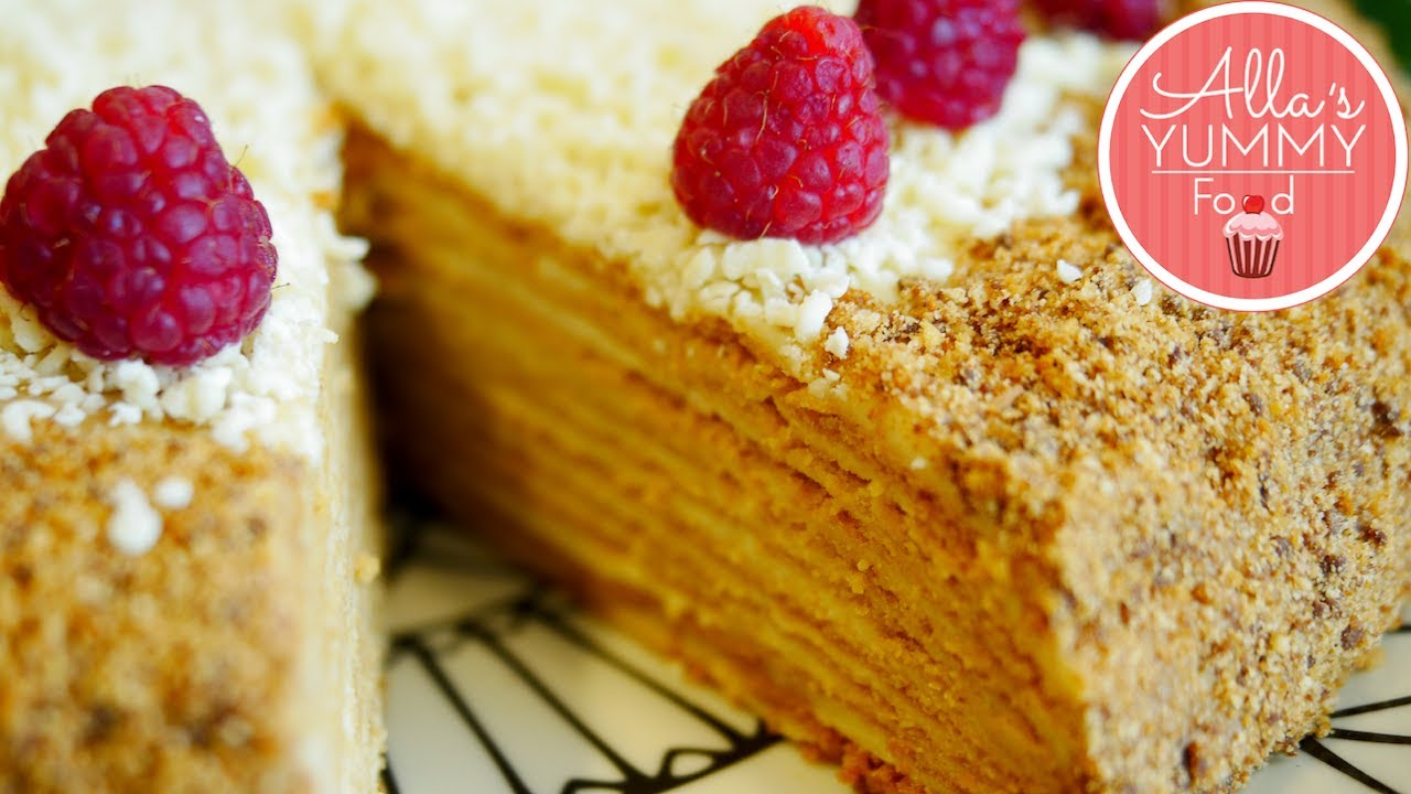 Best Honey Cake Recipe Medovik Russian