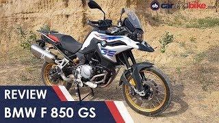 BMW F 850 GS Review | NDTV carandbike