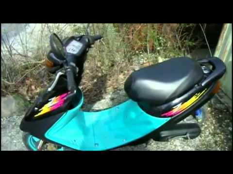 Как я продал скутер Honda dio, выбирал и купил скутер Yamaha jog