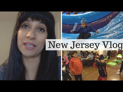 3 Parties in 1 Weekend: New Jersey Trip | FAMILY VLOG | MOM BOSS OF 3