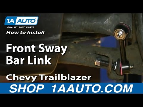 How To Install Replace Front Sway Bar Link 2002-09 GMC Envoy Chevy Trailblazer