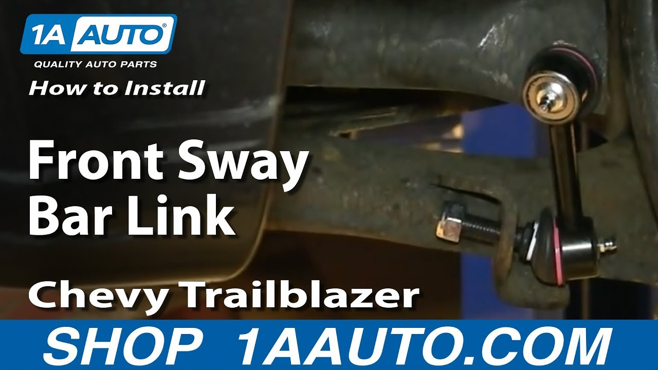 How To Install Replace Front Sway Bar Link 200209 GMC