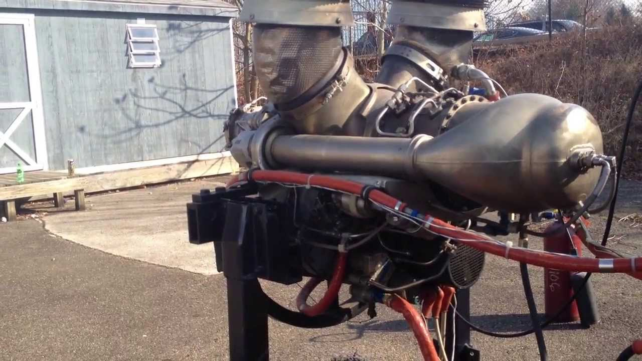 Allison 250 turboshaft Runup  YouTube