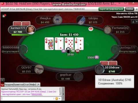 Вор в законе Димон и Шурыгина играют в покер на PokerStars.