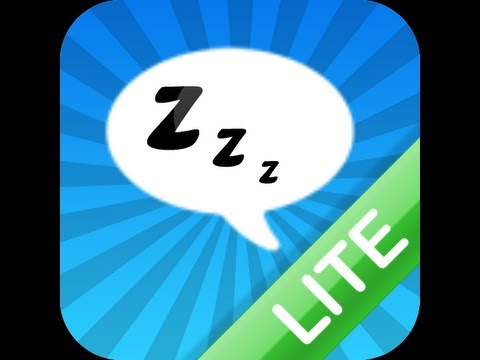 Sleeping Time App for Android