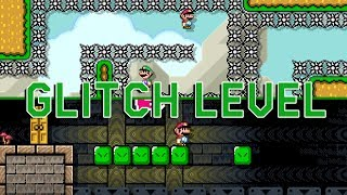 Insanely Cool Glitch Level in Super Mario Maker 2 (by SilicatYT)