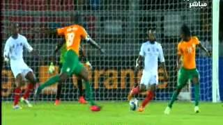 بالفيديو : شاهد اهداف مباراة كوت ديفوار وجمورية الكونغو 3-1 كأس افريقيا
