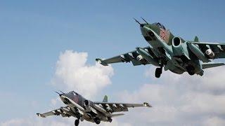 Không Quân Nga Dồn Dập Tấn Công Căn Cứ IS ở Hama và Raqqa