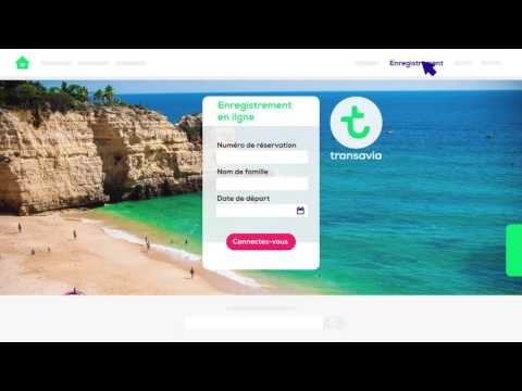 Vidéo Animation web Transavia.