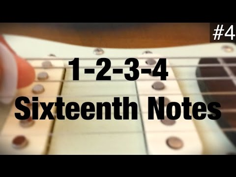 4 Sixteenth Notes